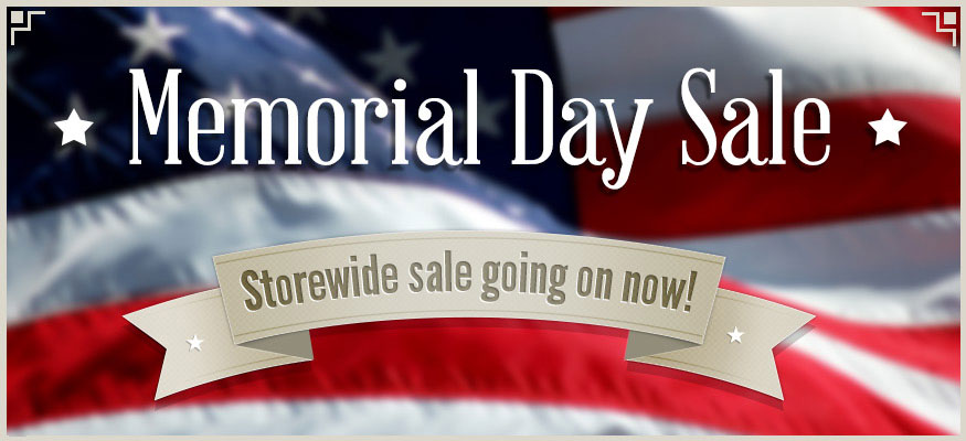 Memorial Day Slide Graphic